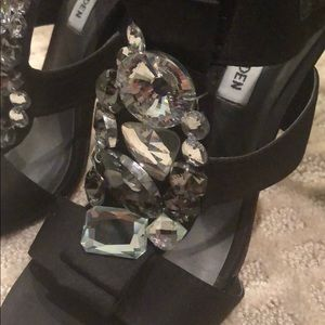 Steve Madden Shoes - Crystal Satin heels